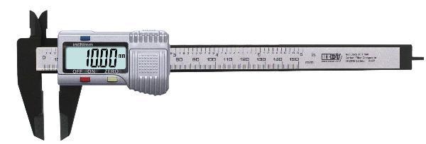 Digitální posuvné měřítko 150mm Carbon