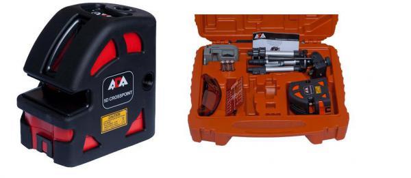 Křížový a bodový laser ADA 5D Crosspoint Set