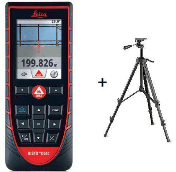 Laserový dálkoměr Leica Disto D510 + stativ FS 14