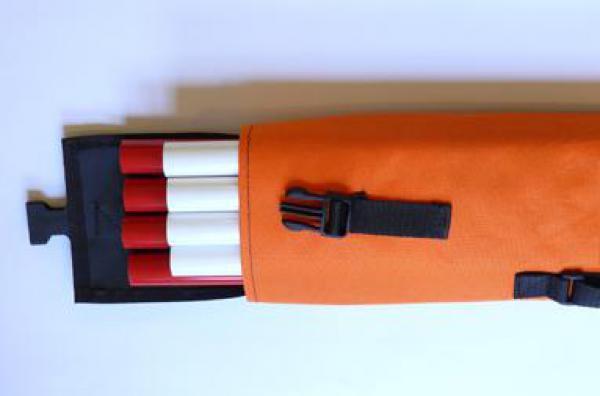 Trasírky 4ks (8 dílů) průměr 25mm v pouzdře
