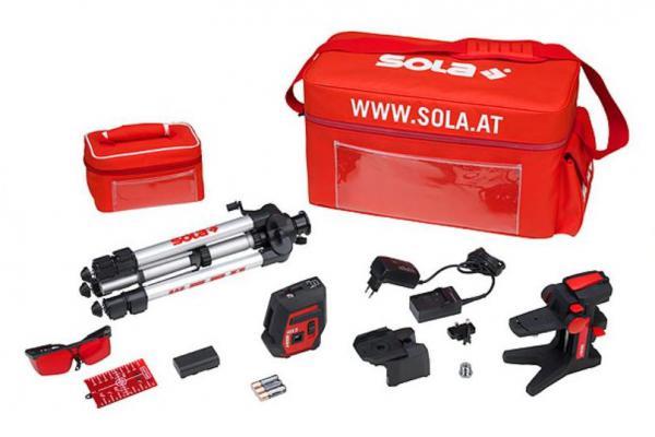 Multifunkční křížový laser SOLA IOX5 set
