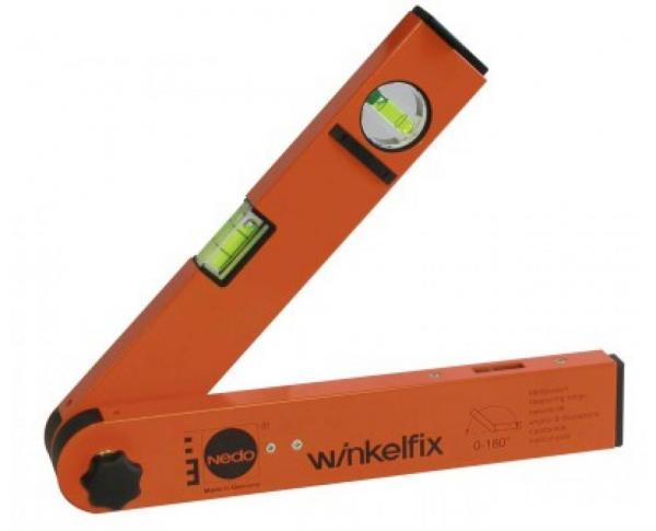 Úhloměr analogový Nedo Winkelfix Shorty - 30cm