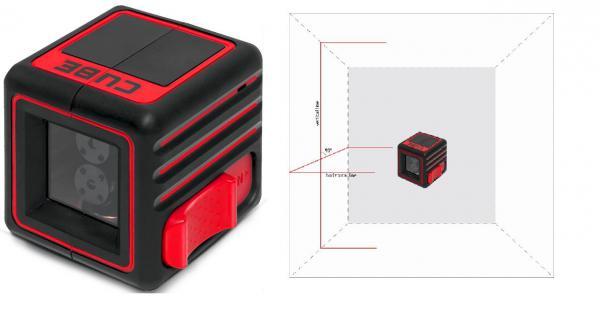 Křížový laser ADA Cube Basic