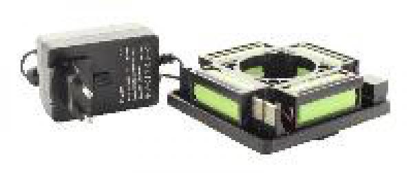 Sada s baterií a nabíječkou pro rotační lasery PLS, FKD, Hedü, ADA