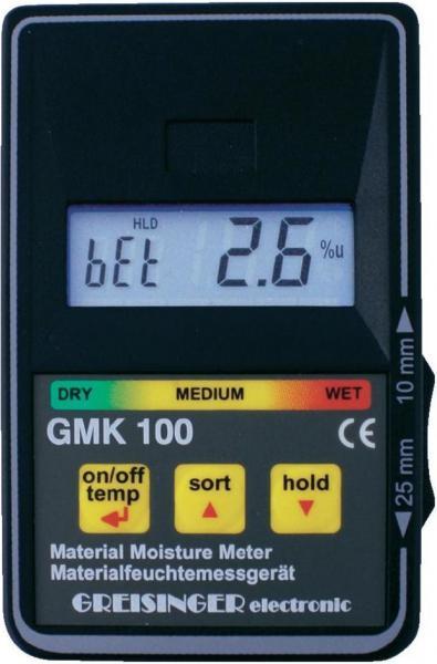 Vlhkoměr GMK 100 - Kapacitní měřič vlhkosti dřeva a stavebních materiálů