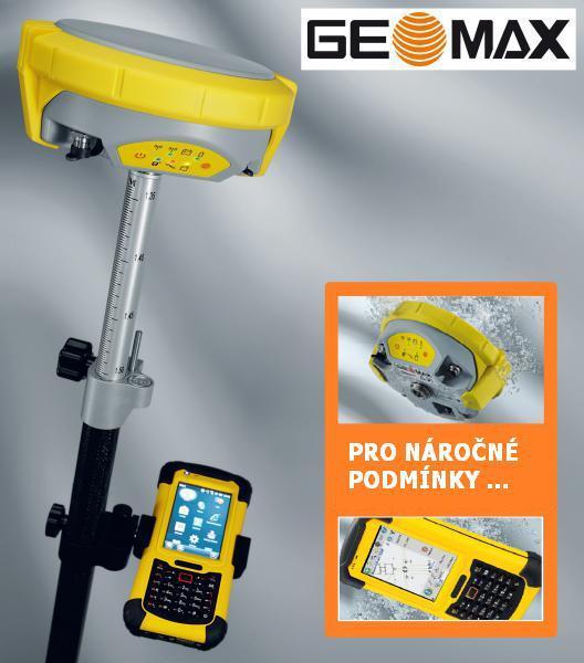 GEOMAX Zenith 25 Pro - kompletní GNSS Set