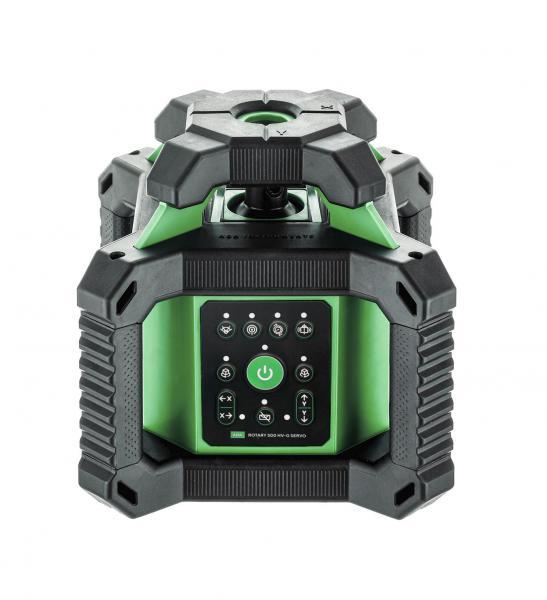 Rotační laser ADA Rotary 500 HV Green - zelený paprsek