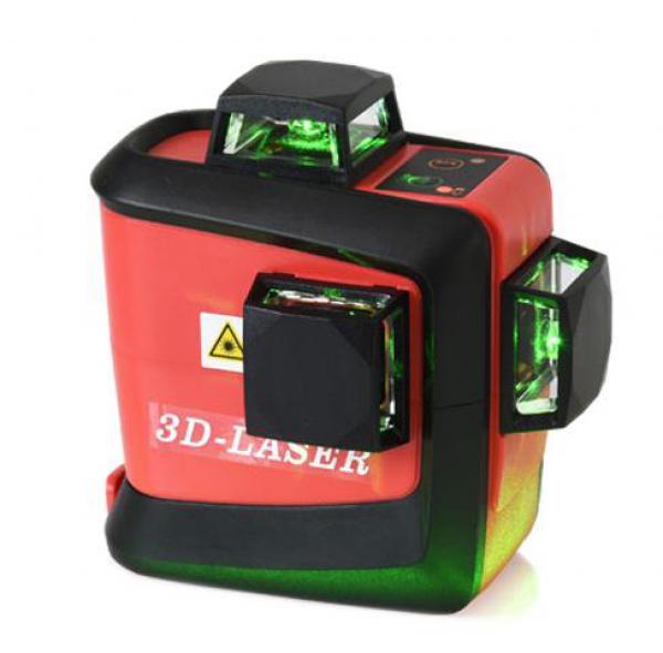 Křížový laser FKD MW-93T 3 x 360 - zelený paprsek