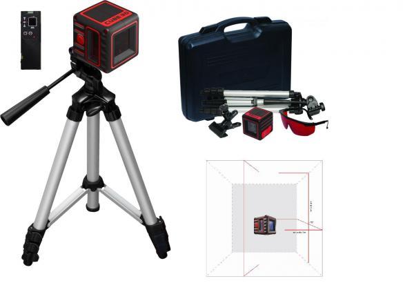 Křížový laser ADA Cube 3D Ultimate + přijímač