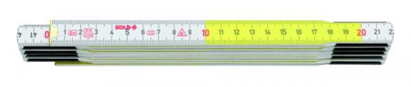 SOLA - HF 2/10 - dřevěný skládací metr 2m