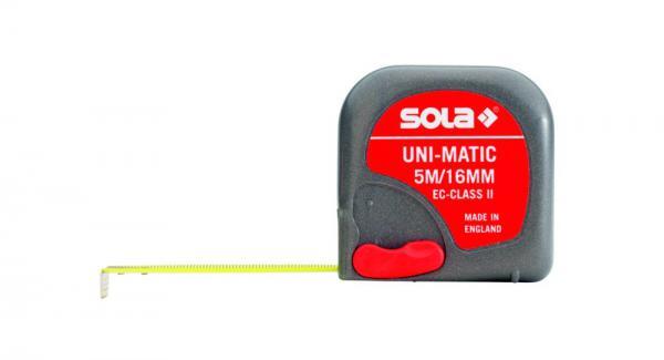 SOLA - UM 5 - Svinovací metr 5m x 16mm