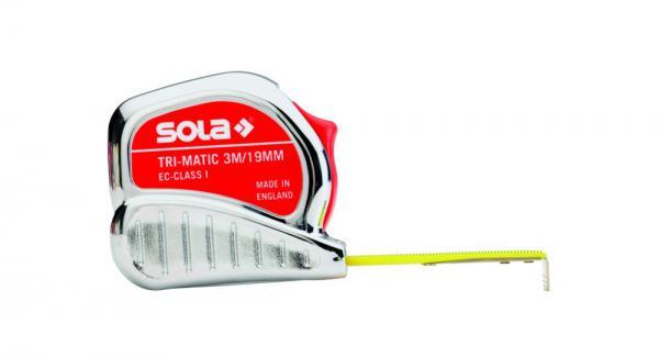 Svinovací  metr SOLA TRI-Matic 10 - I. třída přesnosti
