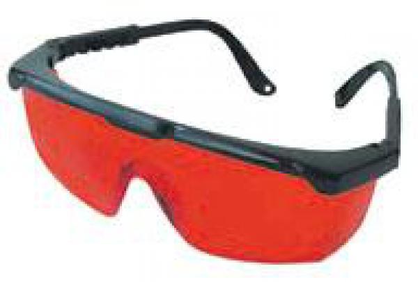 Brýle pro lepší viditelnost laserového paprsku