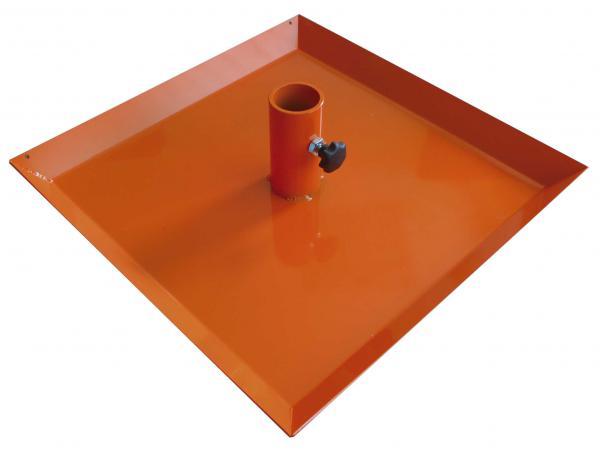 Deska pro nivelační lať vhodná pro lité podlohy