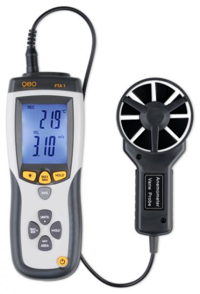 FTA 1 - Anemometr měřič rychlosti a průtoku vzduchu