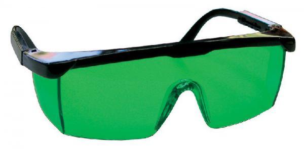 Brýle pro lepší viditelnost zeleného laserového paprsku