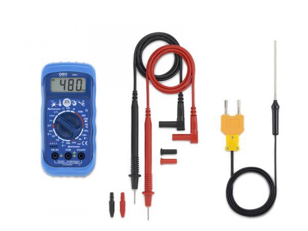 Univerzální multimetr pro měření napětí 5 v 1 Multimetr FMM 5