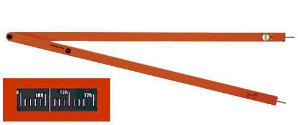 Úhloměr analogový - Nedo Winkelfix Long 1500mm