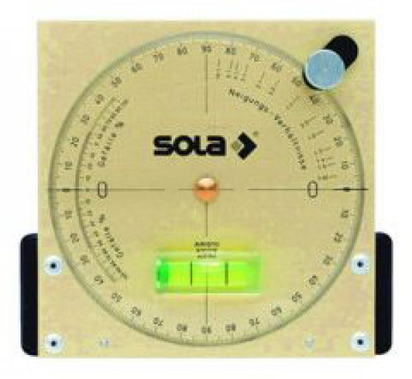 SOLA - NAM 13 - Vodováha se sklonoměrem 14,5cm