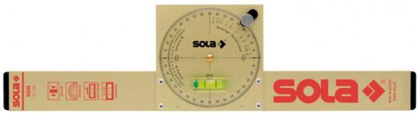 SOLA - NAM 50 - Vodováha se sklonoměrem 50cm