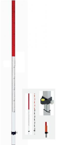 Nivelační lať Flexi TN 20pro měření výškových rozdílů (výsuvná).
